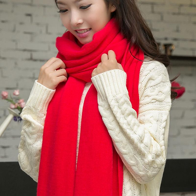 韩国女学生 围巾披肩两用加厚秋冬天围脖